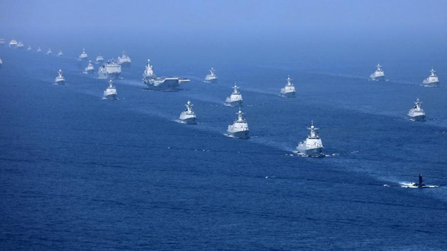 US says Chinese destroyer came dangerously close to US ship