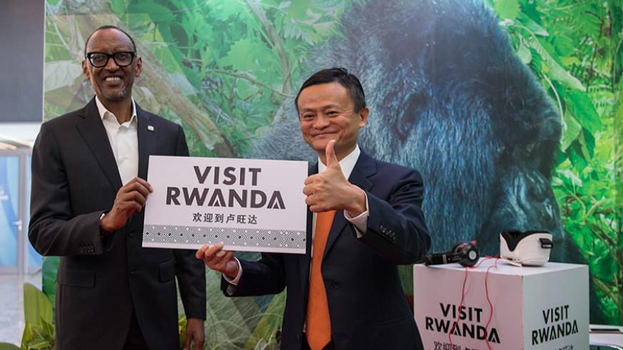 Kagame, Alibaba's Jack Ma launch Africa's first Electronic World Trade platform | The New Times | Rwanda