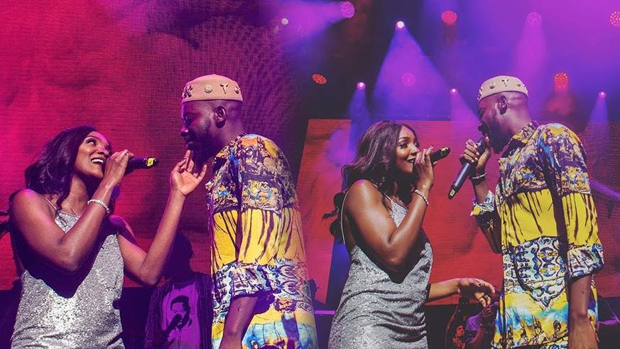 Fans react as videos emerge of Adekunle Gold, Simi's wedding | The