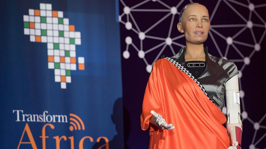 Sophia, the famous humanoid robot has a message for us