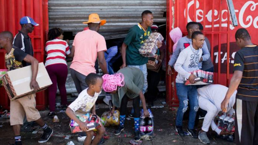 Scores arrested in South Africa after widespread looting, anti-foreigner protests