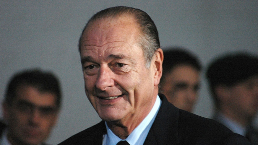 Fmr. French President Jacques Chirac Has Died