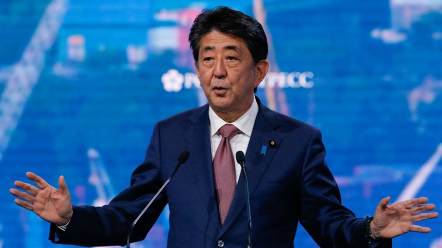 Yoshihide Suga launches bid to become Japan's next prime minister