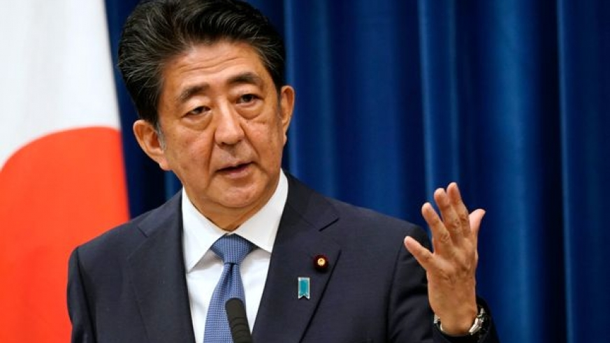 Three Japanese politicians will run to replace Shinzo Abe