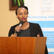 Minister Soraya of Trade and Industry of Rwanda